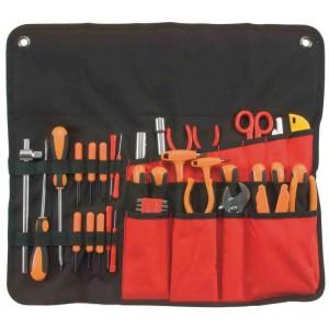 Estuche porta herramientas profesional con asa para for Herramientas para cocina profesional