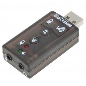 Tarjeta de sonido externa USB Soft 7.1