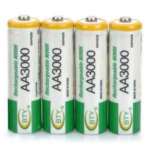 Bateria recargable aa